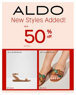 Clothing, Shoes & Accessories deals in the ALDO catalogue ( Published today)