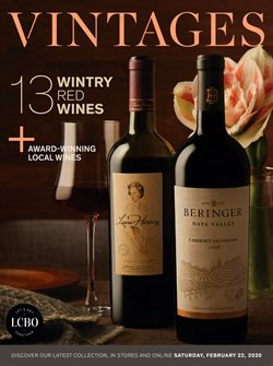 Vintages catalogue ( 1 day ago )