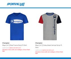 Champion deals in the Sporting Life catalogue ( 9 days left)