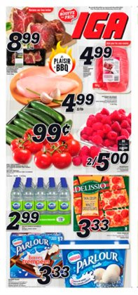 IGA deals in the Montreal flyer