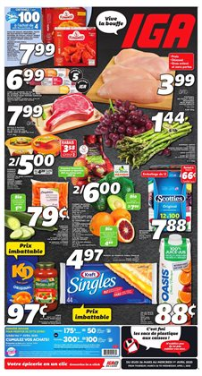 IGA catalogue in Trois-Rivières ( Expires tomorrow )