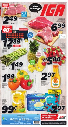 IGA catalogue in Sherbrooke QC ( Expired )