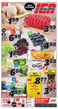 Grocery deals in the IGA catalogue ( Expires today)