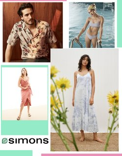 Clothing, Shoes & Accessories deals in the Simons catalogue ( Expires tomorrow)