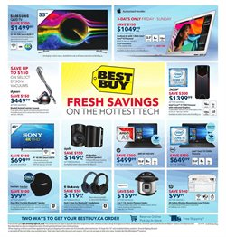 Electronics & Appliances offers in the Best Buy catalogue in Gatineau