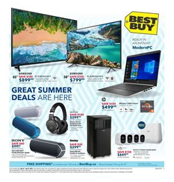 Best Buy deals in the Montreal flyer