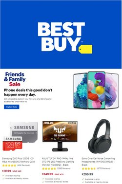 Electronics offers in the Best Buy catalogue ( Published today )