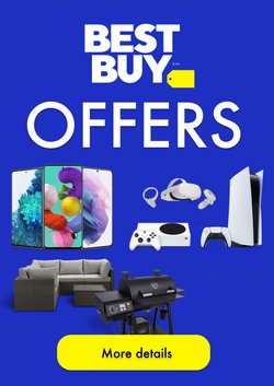 Best Buy deals in the Best Buy catalogue ( Published today)