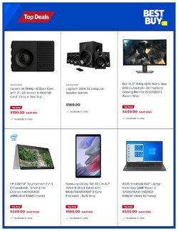 Logitech deals in the Best Buy catalogue ( 2 days left)