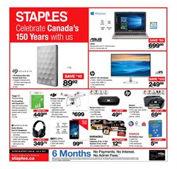 Staples deals in the Montreal flyer