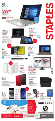 Electronics & Appliances offers in the Staples catalogue in Salaberry-de-Valleyfield