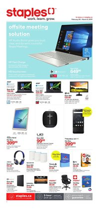 Electronics & Appliances offers in the Staples catalogue in Rouyn-Noranda