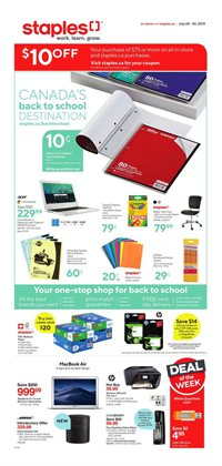 Electronics offers in the Staples catalogue in Saint-Jérôme