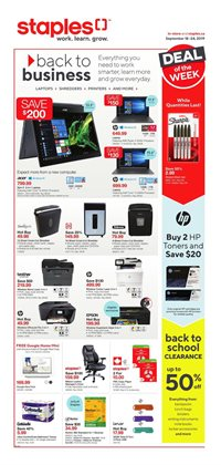 Electronics offers in the Staples catalogue in Granby