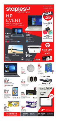 Electronics offers in the Staples catalogue in Saint John