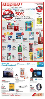 Staples catalogue ( 2 days ago )