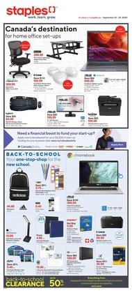 Staples catalogue ( 1 day ago )