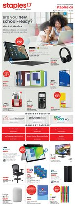 Staples catalogue ( Expired )