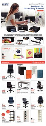Electronics offers in the Staples catalogue ( Expires tomorrow )