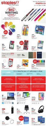Staples catalogue ( Expires tomorrow )