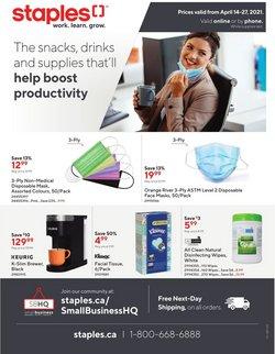 Staples catalogue ( 2 days ago )