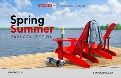 Electronics deals in the Staples catalogue ( 11 days left)