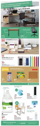 Electronics deals in the Staples catalogue ( Expires today)