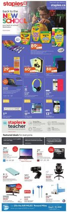 Electronics deals in the Staples catalogue ( 1 day ago)
