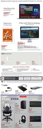 Apple deals in the Staples catalogue ( 2 days left)