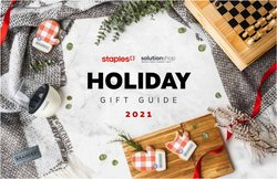 Staples catalogue ( More than a month)