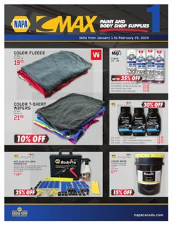 NAPA Auto Parts deals in the Montreal flyer