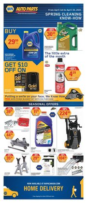NAPA Auto Parts catalogue ( 14 days left )