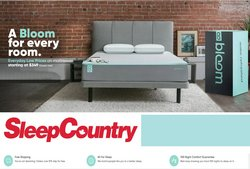 Sleep Country deals in the Sleep Country catalogue ( Expired)