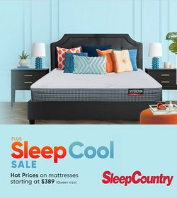 Sleep Country deals in the Sleep Country catalogue ( 3 days left)