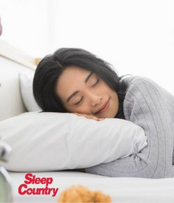Home & Furniture deals in the Sleep Country catalogue ( 4 days left)