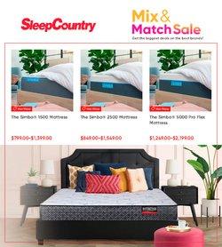 Sleep Country catalogue ( 19 days left)