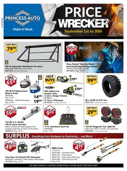 Cars, motorcycles & spares offers in the Princess Auto catalogue in London