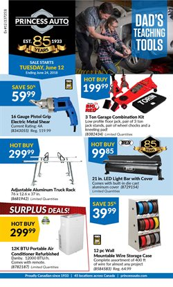 Cars, motorcycles & spares offers in the Princess Auto catalogue in Toronto