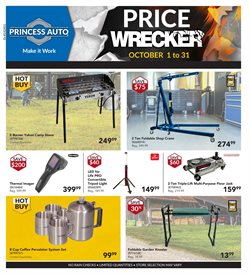 Cars, motorcycles & spares offers in the Princess Auto catalogue in Kanata