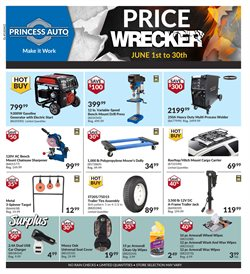 Automotive offers in the Princess Auto catalogue in Toronto