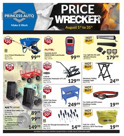 Automotive offers in the Princess Auto catalogue in Edmonton