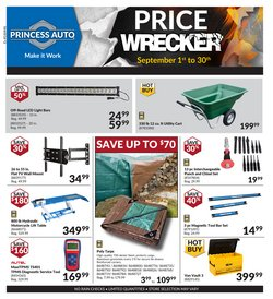 Automotive offers in the Princess Auto catalogue in Prince George