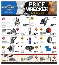 Automotive offers in the Princess Auto catalogue ( 3 days ago )