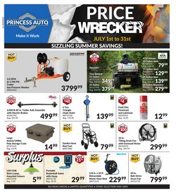 Automotive offers in the Princess Auto catalogue in Toronto ( 21 days left )