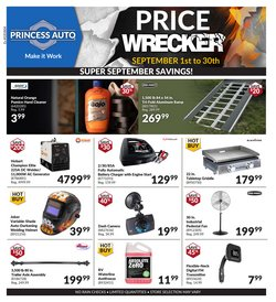 Automotive offers in the Princess Auto catalogue ( 9 days left )