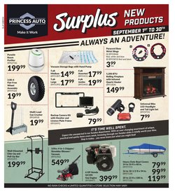 Automotive offers in the Princess Auto catalogue in Toronto ( 9 days left )