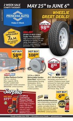 Automotive deals in the Princess Auto catalogue ( 14 days left)
