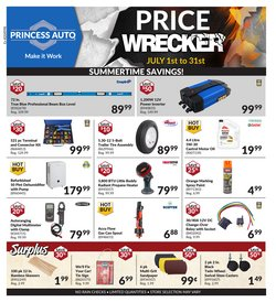 Automotive deals in the Princess Auto catalogue ( 6 days left)