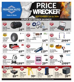 Automotive deals in the Princess Auto catalogue ( 3 days left)