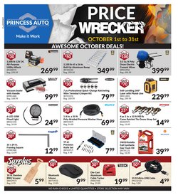 Automotive deals in the Princess Auto catalogue ( 12 days left)